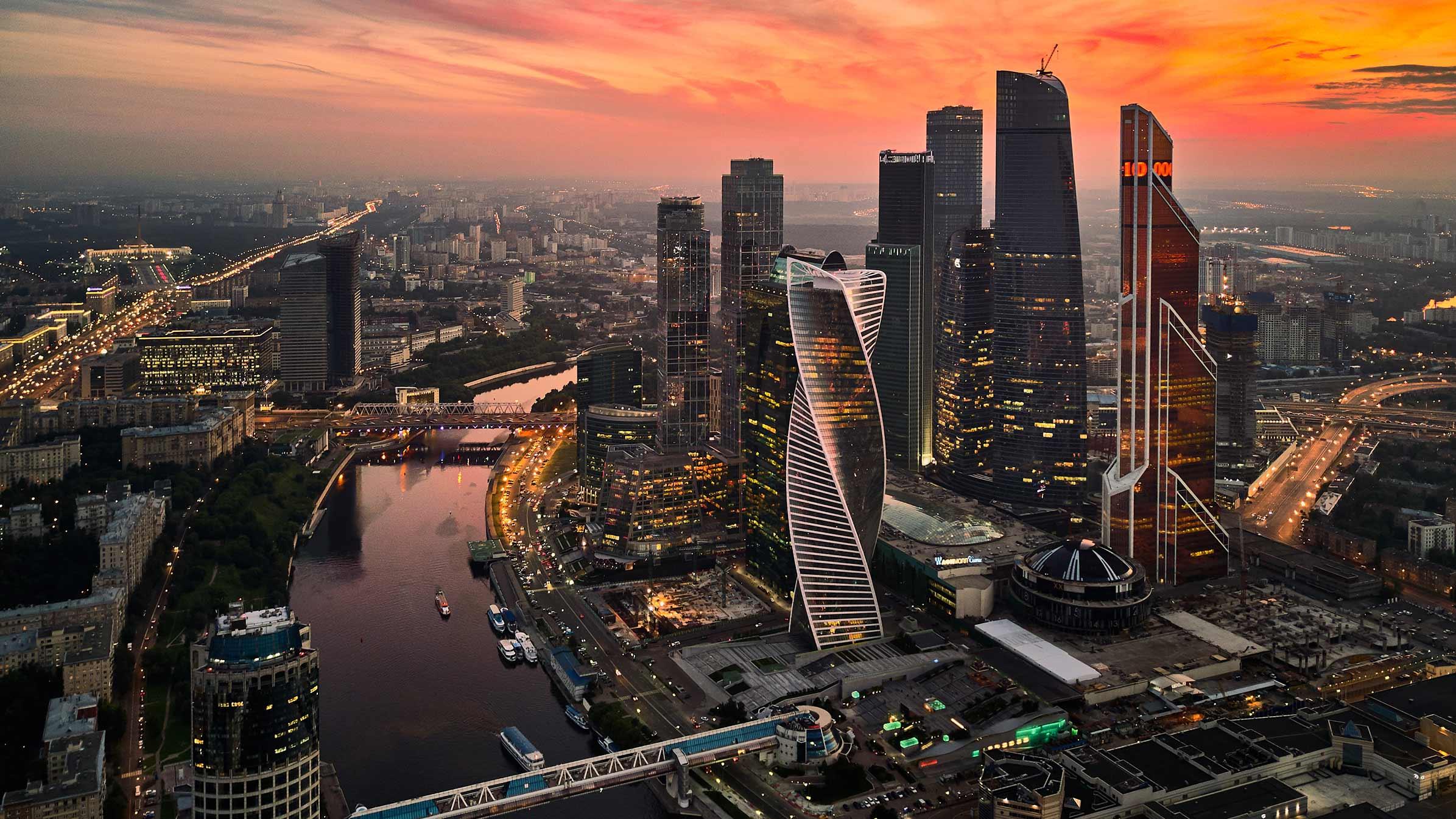 Moscow Skyline Rmjm