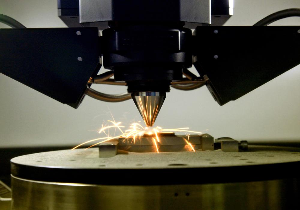 3D printing of metal piece