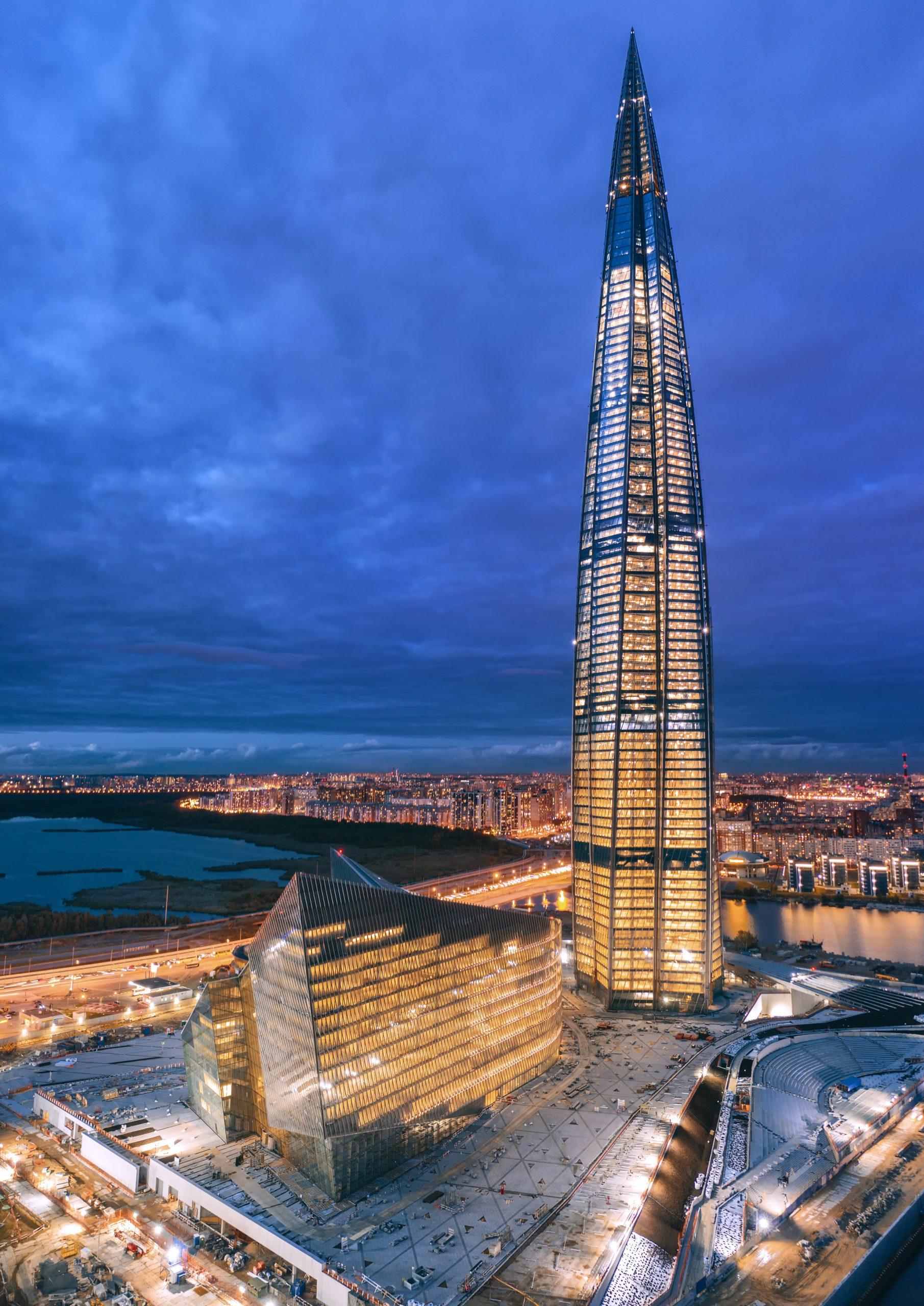 The Lakhta Center Wins the CTBUH Audience Awards 2021