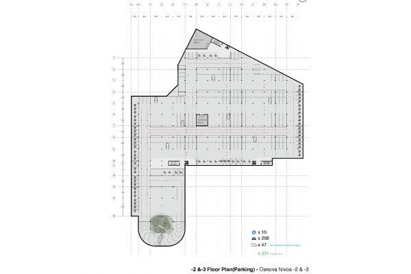 -2 &-3 Parkings Plans