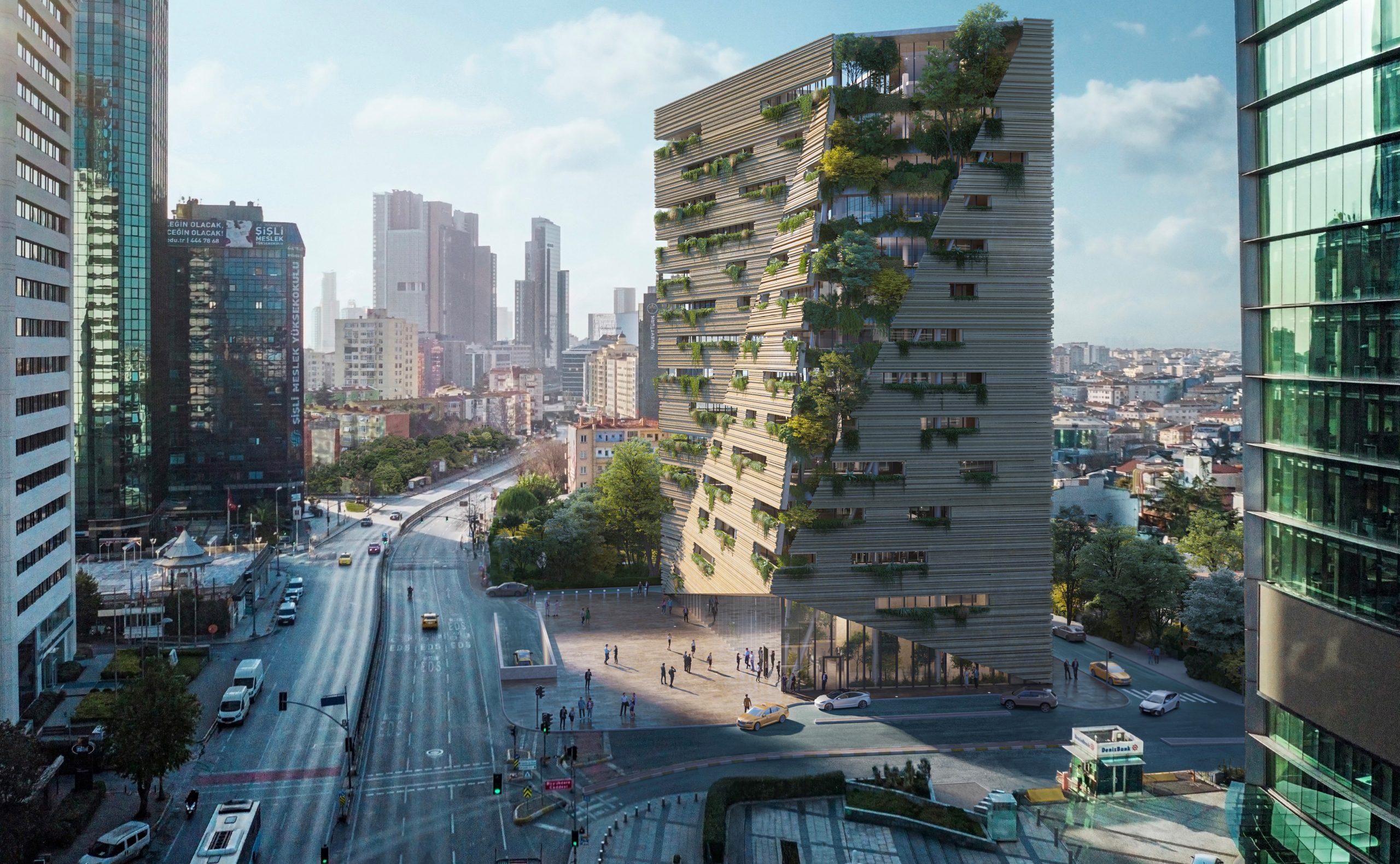 RMJM Milano Win Competition to Design Sanko Headquarters in Istanbul, Turkey