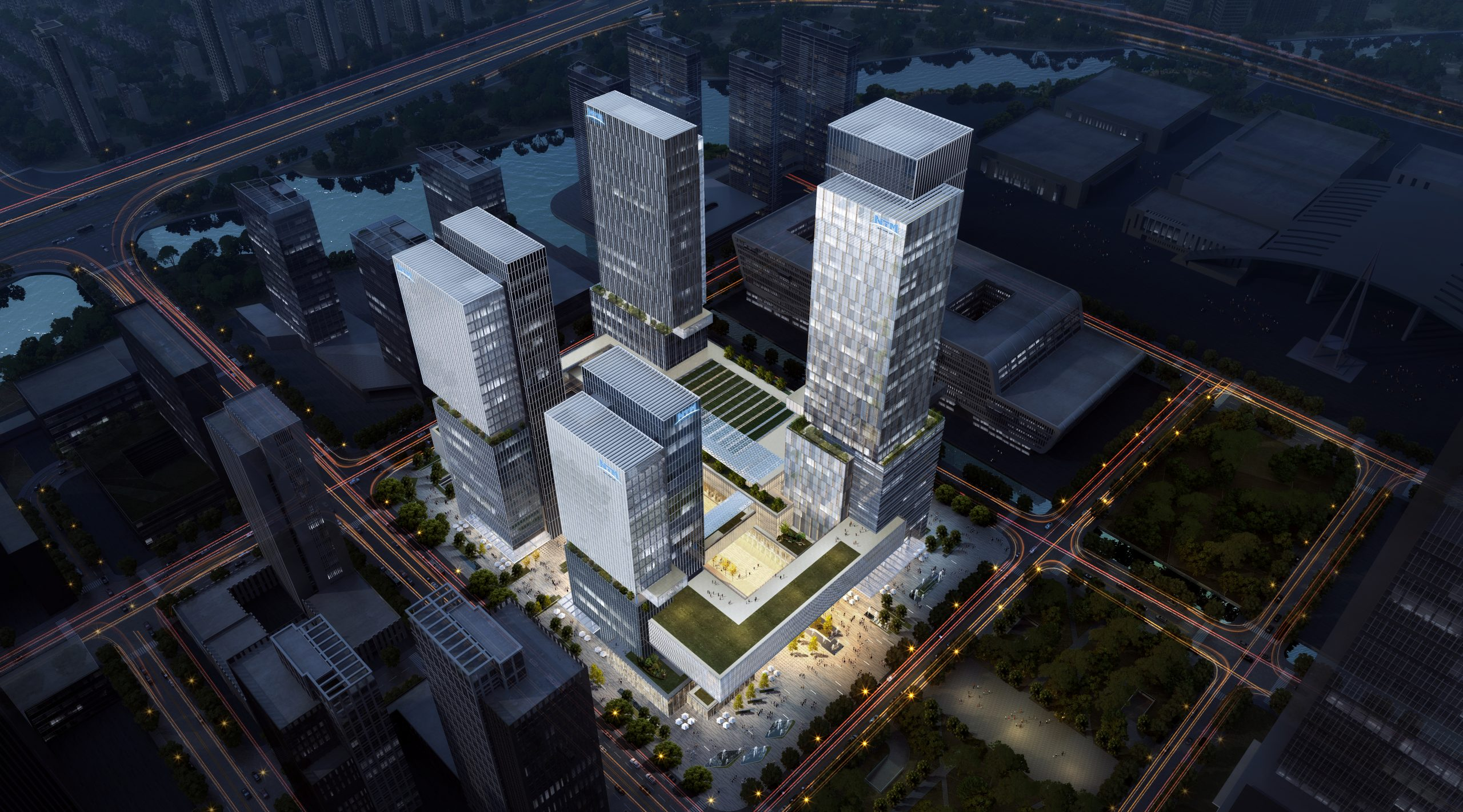 RMJM RED Appointed as Lead Design Architects for the Ningbo International Trade and Exhibition Centre